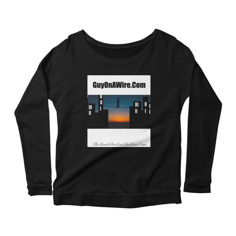 GuyOnAWire.com for Jamie Gagnon Women's Scoop Neck Longsleeve T-Shirt by thebombdotcomdotcom.com