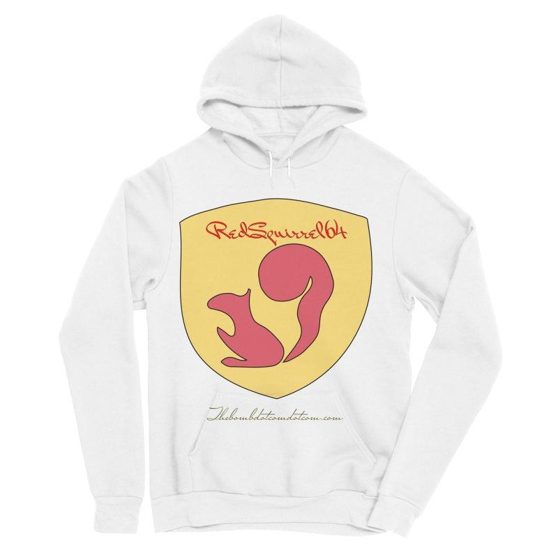 RedSquirrel64 for Bryan Hornbeck Women's Sponge Fleece Pullover Hoody by thebombdotcomdotcom.com