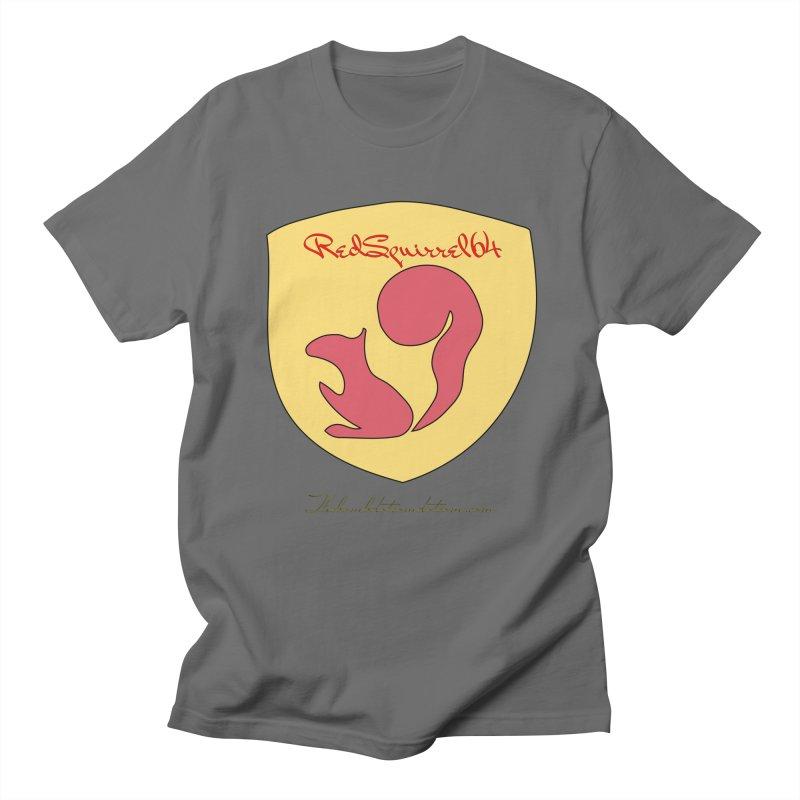 RedSquirrel64 for Bryan Hornbeck Men's T-Shirt by thebombdotcomdotcom.com