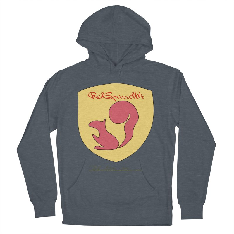 RedSquirrel64 for Bryan Hornbeck Women's French Terry Pullover Hoody by thebombdotcomdotcom.com