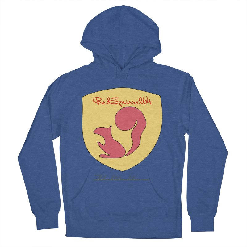 RedSquirrel64 for Bryan Hornbeck Men's French Terry Pullover Hoody by thebombdotcomdotcom.com