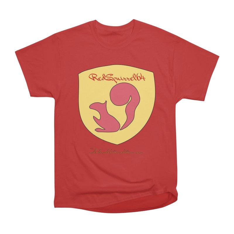 RedSquirrel64 for Bryan Hornbeck Women's Heavyweight Unisex T-Shirt by thebombdotcomdotcom.com