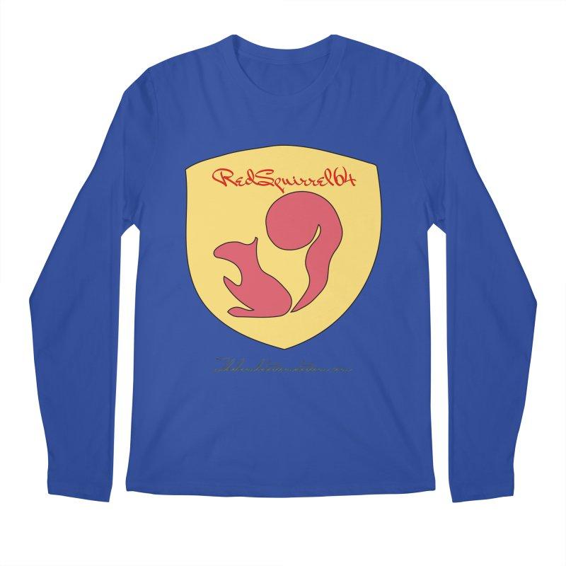 RedSquirrel64 for Bryan Hornbeck Men's Regular Longsleeve T-Shirt by thebombdotcomdotcom.com