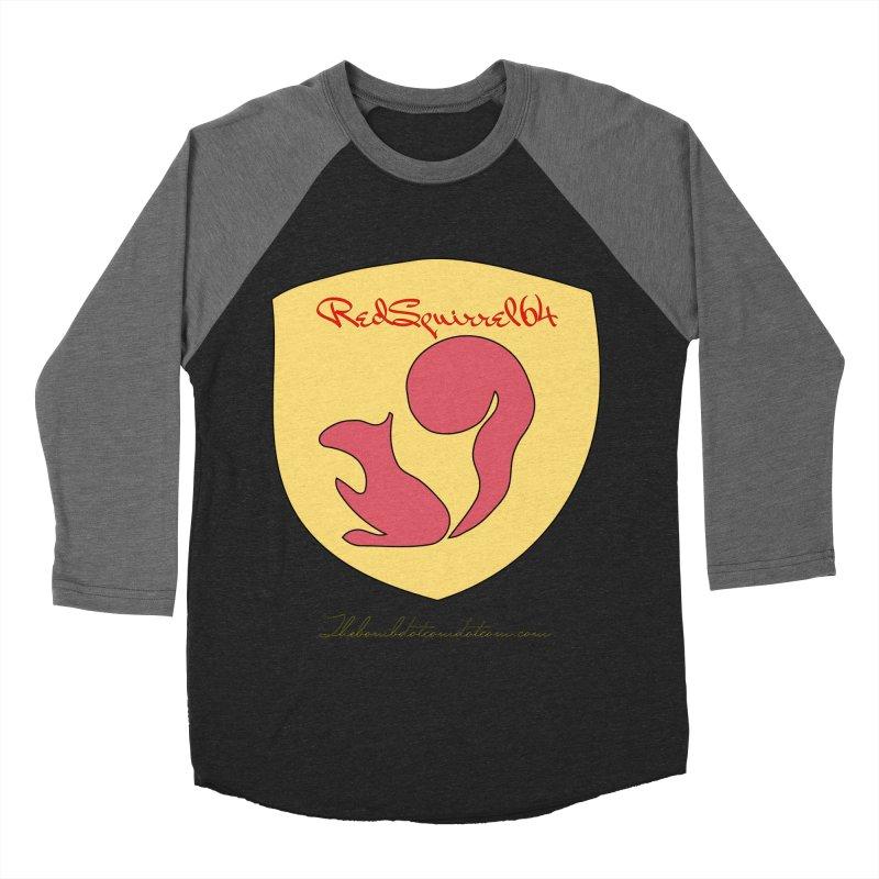 RedSquirrel64 for Bryan Hornbeck Women's Baseball Triblend Longsleeve T-Shirt by thebombdotcomdotcom.com