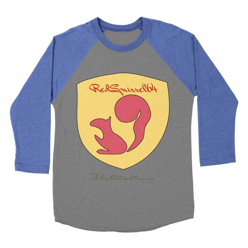 RedSquirrel64 for Bryan Hornbeck Men's Baseball Triblend Longsleeve T-Shirt by thebombdotcomdotcom.com