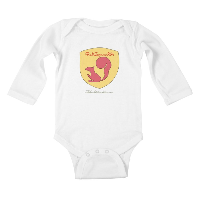 RedSquirrel64 for Bryan Hornbeck Kids Baby Longsleeve Bodysuit by thebombdotcomdotcom.com