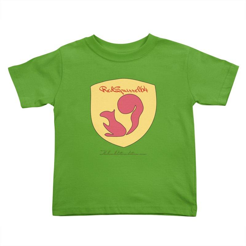 RedSquirrel64 for Bryan Hornbeck Kids Toddler T-Shirt by thebombdotcomdotcom.com