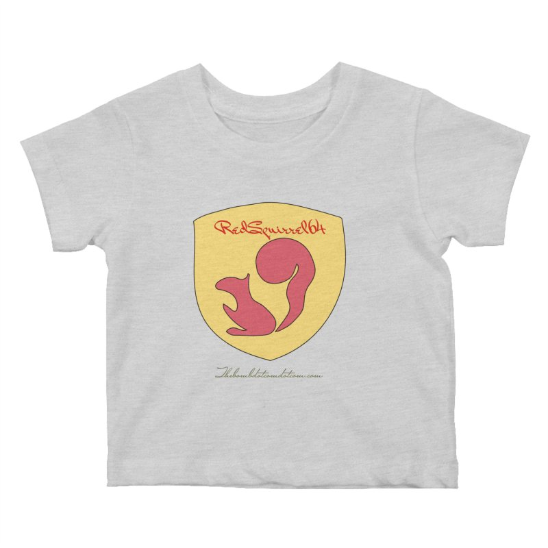 RedSquirrel64 for Bryan Hornbeck Kids Baby T-Shirt by thebombdotcomdotcom.com