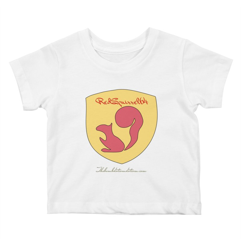 RedSquirrel64 for Bryan Hornbeck Kids Baby T-Shirt by thebombdotcomdotcom.com