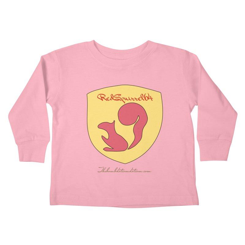 RedSquirrel64 for Bryan Hornbeck Kids Toddler Longsleeve T-Shirt by thebombdotcomdotcom.com
