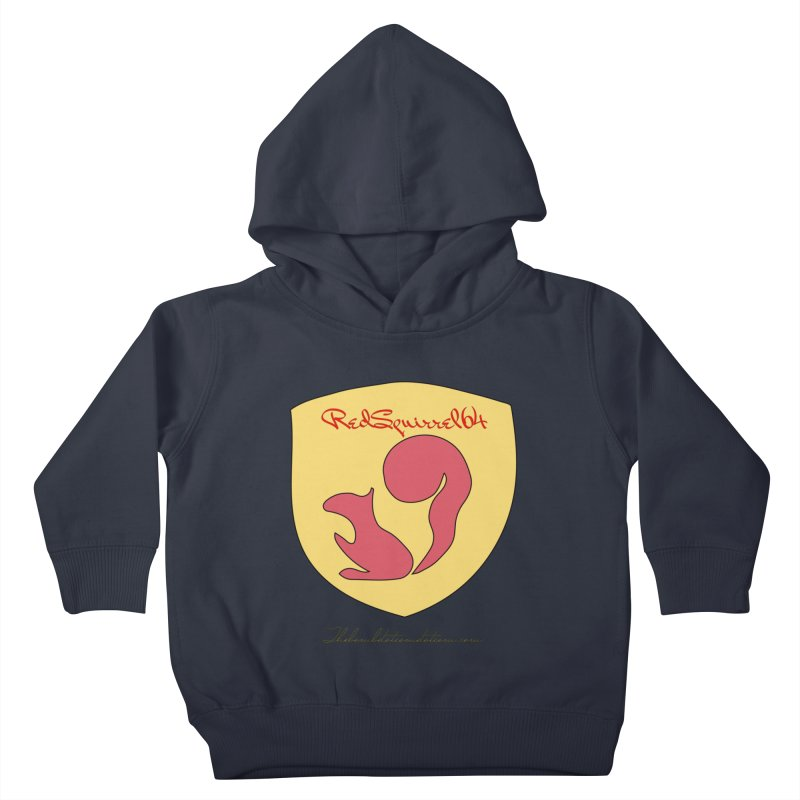 RedSquirrel64 for Bryan Hornbeck Kids Toddler Pullover Hoody by thebombdotcomdotcom.com