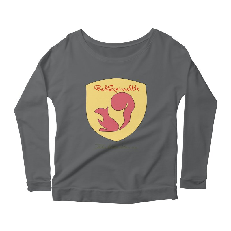 RedSquirrel64 for Bryan Hornbeck Women's Scoop Neck Longsleeve T-Shirt by thebombdotcomdotcom.com