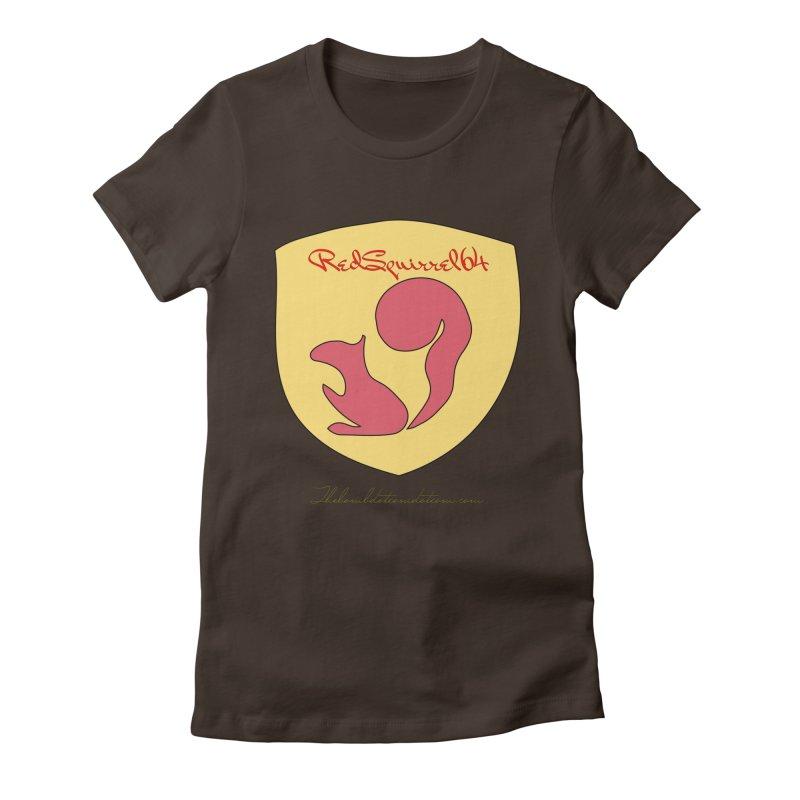 RedSquirrel64 for Bryan Hornbeck Women's Fitted T-Shirt by thebombdotcomdotcom.com
