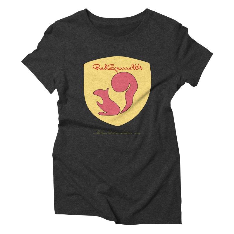 RedSquirrel64 for Bryan Hornbeck Women's Triblend T-Shirt by thebombdotcomdotcom.com