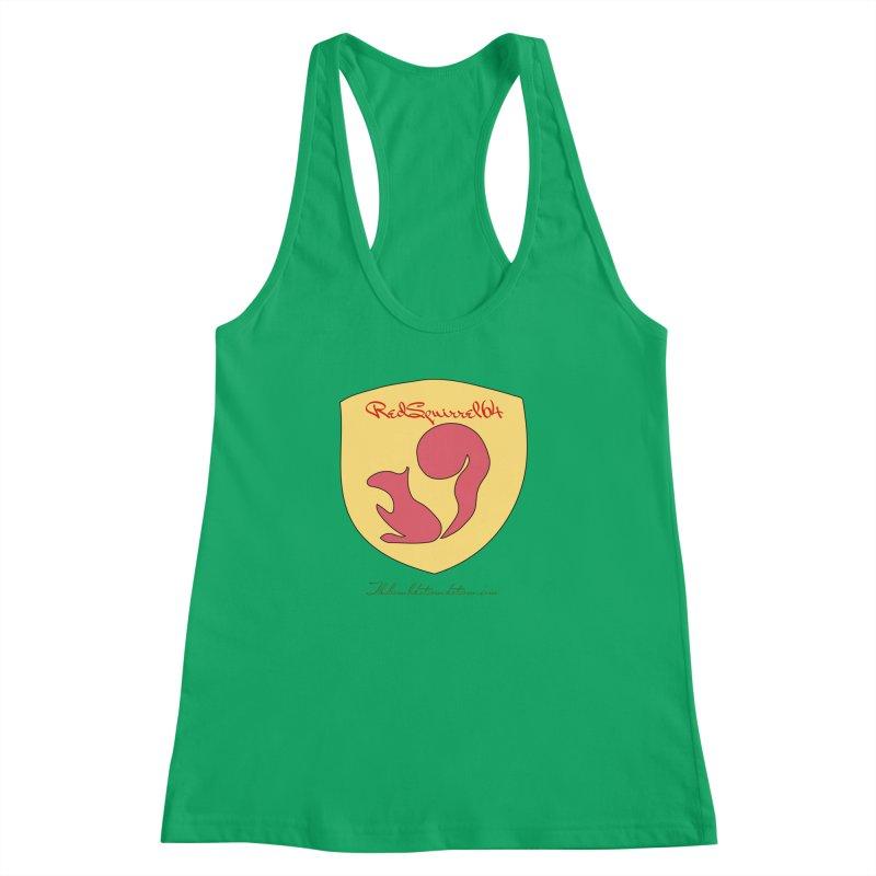 RedSquirrel64 for Bryan Hornbeck Women's Racerback Tank by thebombdotcomdotcom.com