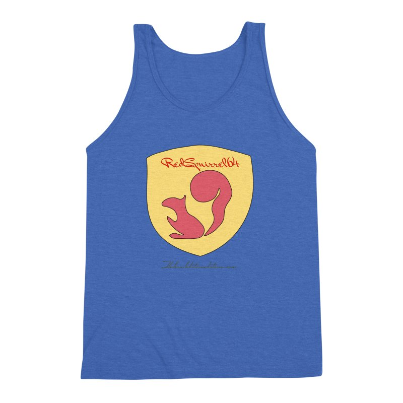 RedSquirrel64 for Bryan Hornbeck Men's Triblend Tank by thebombdotcomdotcom.com