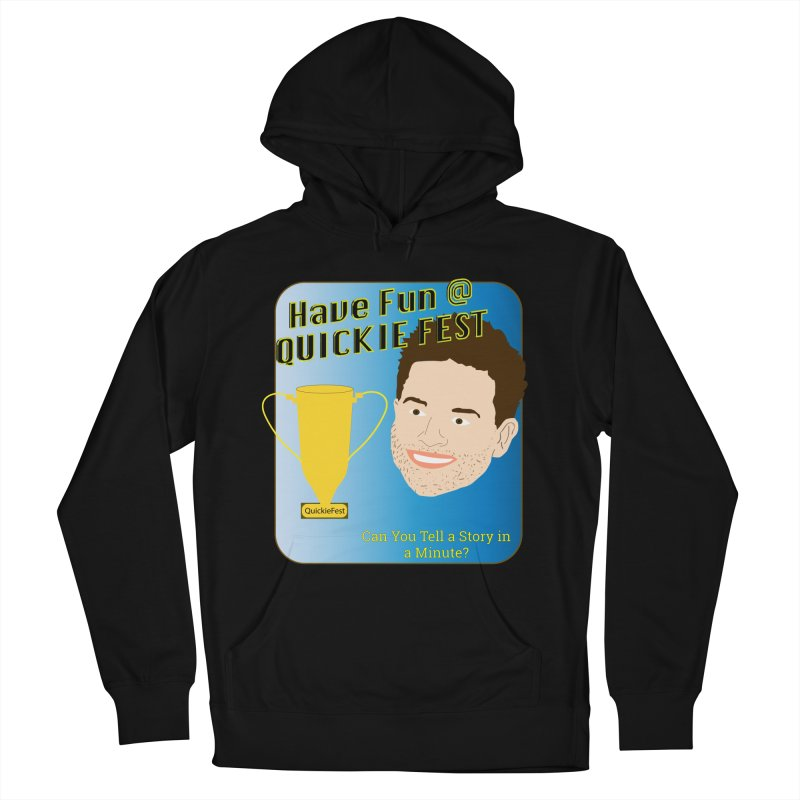 Quickie Fest for Mike Muntner Women's French Terry Pullover Hoody by thebombdotcomdotcom.com