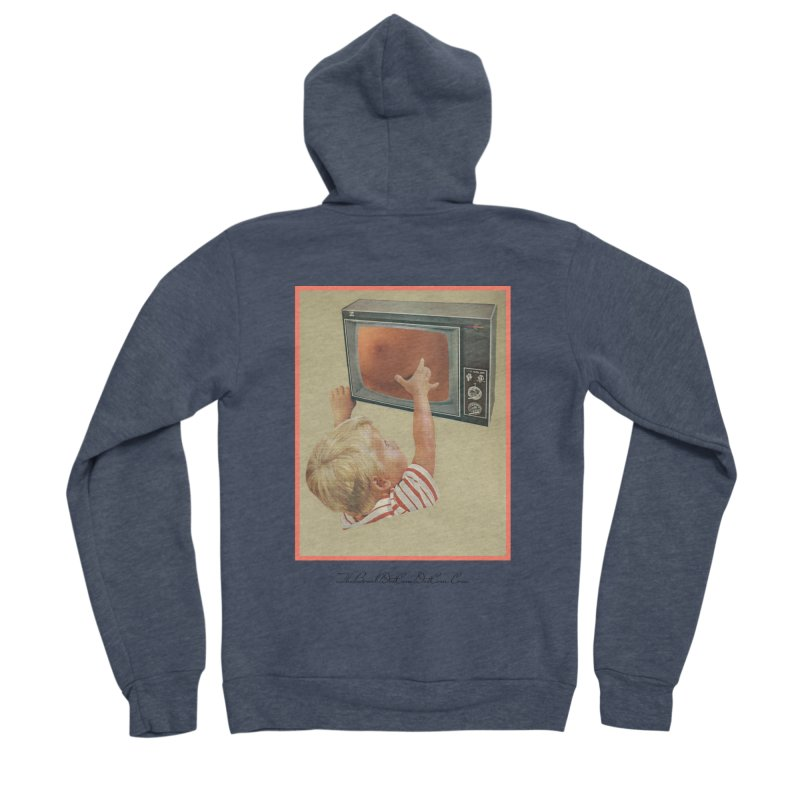 """Andy Riggs """"Taught to Yearn for the Unobtainable"""" Women's Sponge Fleece Zip-Up Hoody by thebombdotcomdotcom.com"""