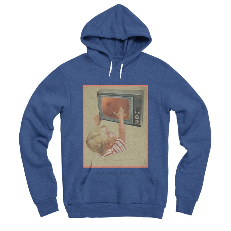 """Andy Riggs """"Taught to Yearn for the Unobtainable"""" Men's Sponge Fleece Pullover Hoody by thebombdotcomdotcom.com"""