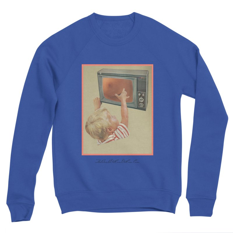 "Andy Riggs ""Taught to Yearn for the Unobtainable"" Men's Sponge Fleece Sweatshirt by thebombdotcomdotcom.com"