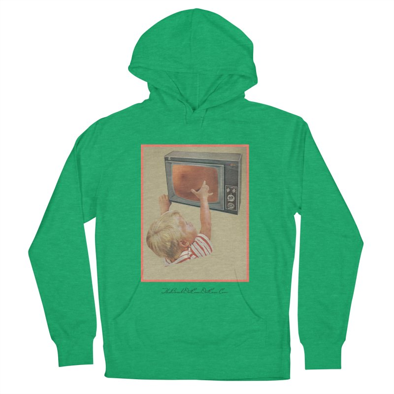 """Andy Riggs """"Taught to Yearn for the Unobtainable"""" Men's French Terry Pullover Hoody by thebombdotcomdotcom.com"""