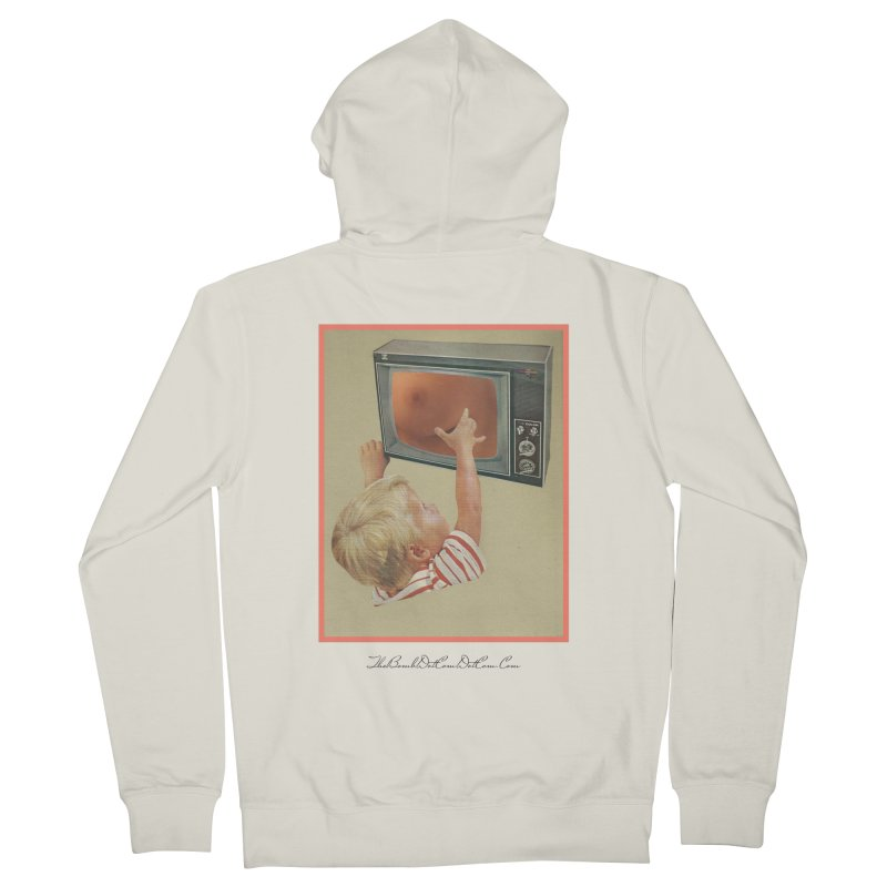 """Andy Riggs """"Taught to Yearn for the Unobtainable"""" Women's French Terry Zip-Up Hoody by thebombdotcomdotcom.com"""