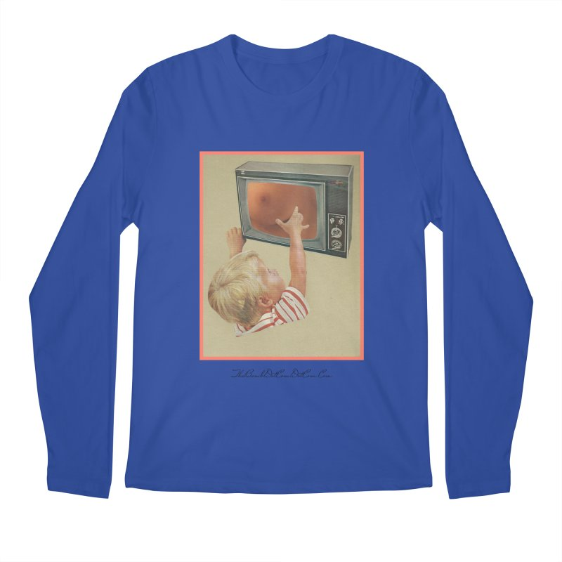 """Andy Riggs """"Taught to Yearn for the Unobtainable"""" Men's Regular Longsleeve T-Shirt by thebombdotcomdotcom.com"""