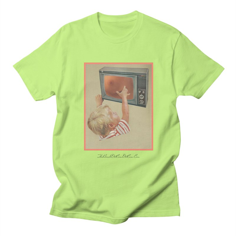 """Andy Riggs """"Taught to Yearn for the Unobtainable"""" Women's Regular Unisex T-Shirt by thebombdotcomdotcom.com"""