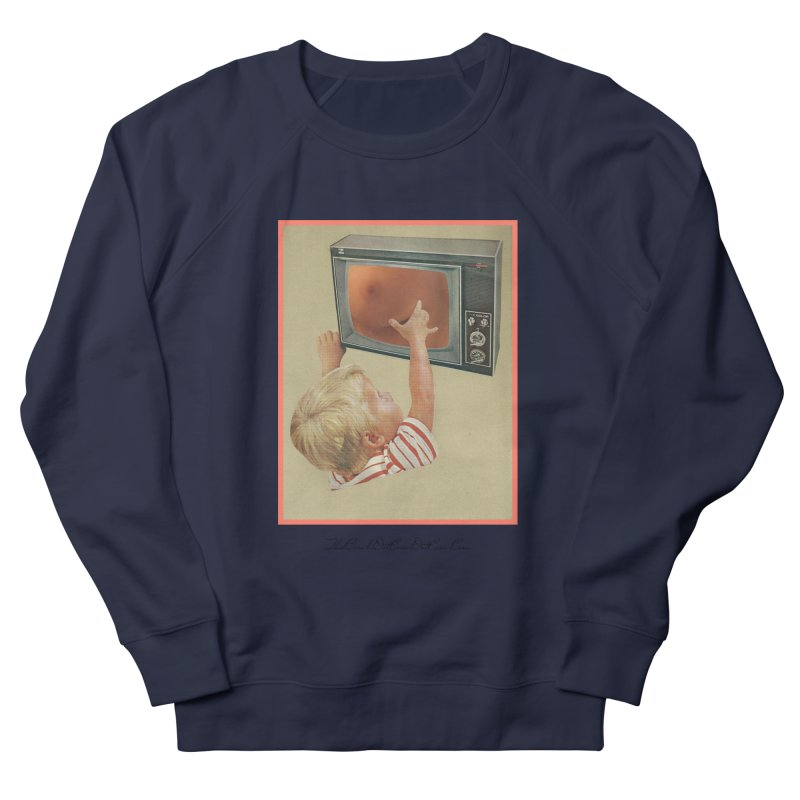 "Andy Riggs ""Taught to Yearn for the Unobtainable"" Men's French Terry Sweatshirt by thebombdotcomdotcom.com"