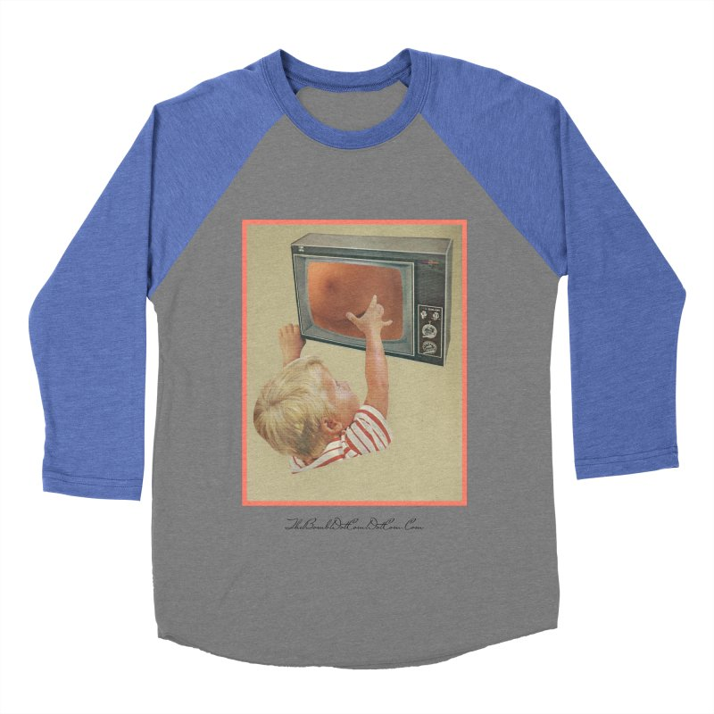 """Andy Riggs """"Taught to Yearn for the Unobtainable"""" Men's Baseball Triblend Longsleeve T-Shirt by thebombdotcomdotcom.com"""