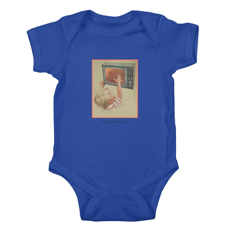 """Andy Riggs """"Taught to Yearn for the Unobtainable"""" Kids Baby Bodysuit by thebombdotcomdotcom.com"""