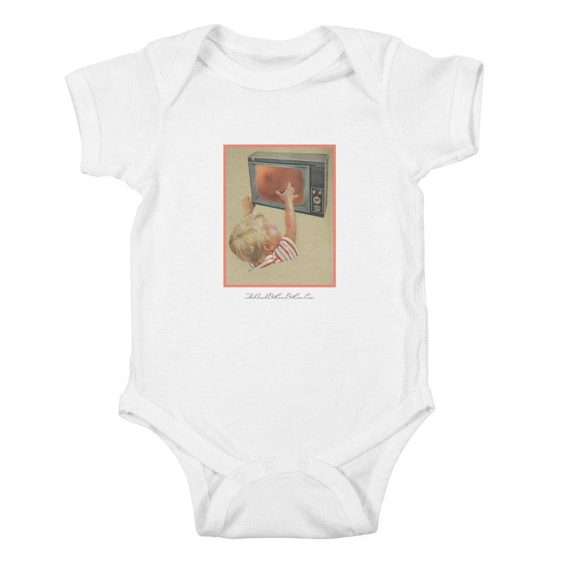 "Andy Riggs ""Taught to Yearn for the Unobtainable"" Kids Baby Bodysuit by thebombdotcomdotcom.com"