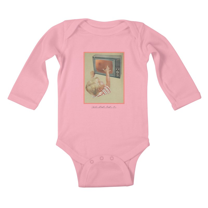 """Andy Riggs """"Taught to Yearn for the Unobtainable"""" Kids Baby Longsleeve Bodysuit by thebombdotcomdotcom.com"""