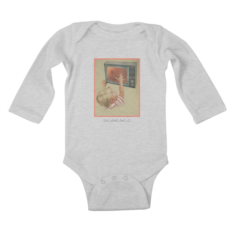 "Andy Riggs ""Taught to Yearn for the Unobtainable"" Kids Baby Longsleeve Bodysuit by thebombdotcomdotcom.com"