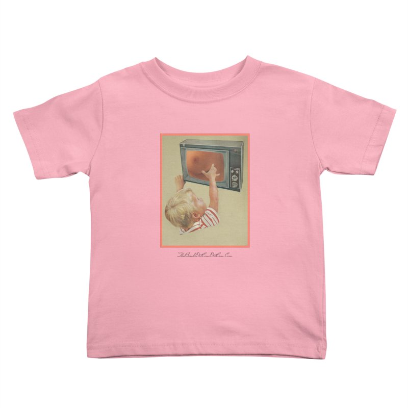"""Andy Riggs """"Taught to Yearn for the Unobtainable"""" Kids Toddler T-Shirt by thebombdotcomdotcom.com"""