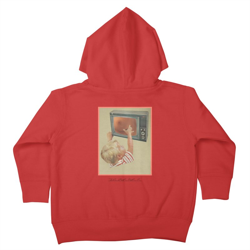 "Andy Riggs ""Taught to Yearn for the Unobtainable"" Kids Toddler Zip-Up Hoody by thebombdotcomdotcom.com"