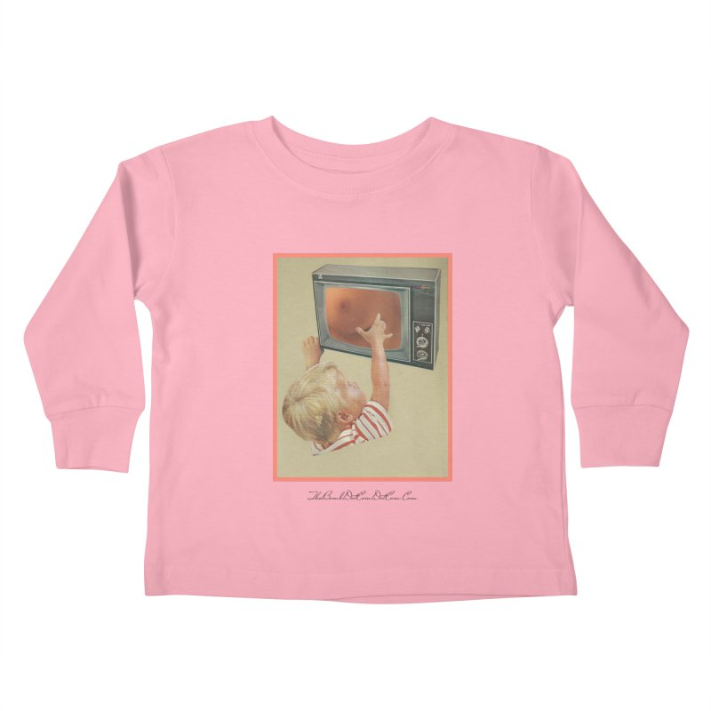 """Andy Riggs """"Taught to Yearn for the Unobtainable"""" Kids Toddler Longsleeve T-Shirt by thebombdotcomdotcom.com"""