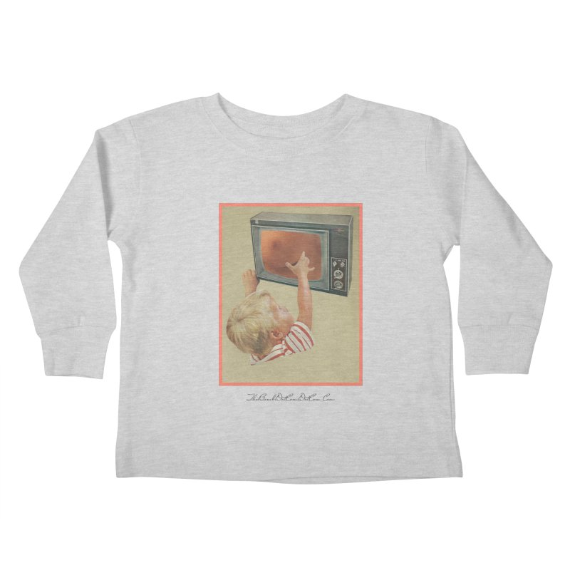 "Andy Riggs ""Taught to Yearn for the Unobtainable"" Kids Toddler Longsleeve T-Shirt by thebombdotcomdotcom.com"