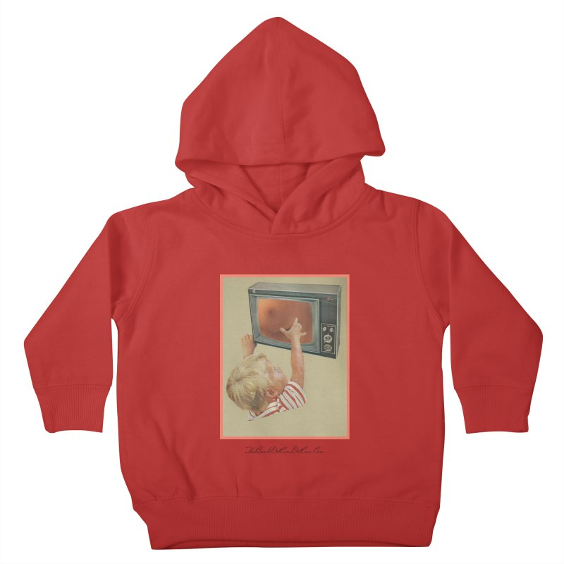"""Andy Riggs """"Taught to Yearn for the Unobtainable"""" Kids Toddler Pullover Hoody by thebombdotcomdotcom.com"""