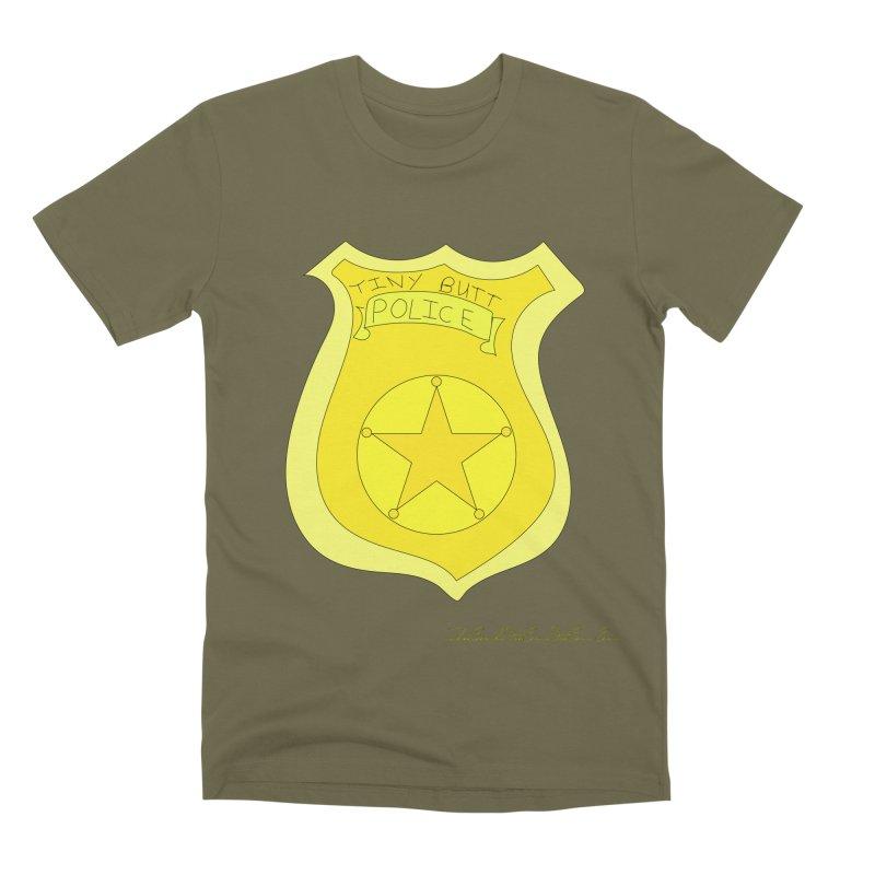 Tiny Butt Police for Betty Baston Men's Premium T-Shirt by thebombdotcomdotcom.com