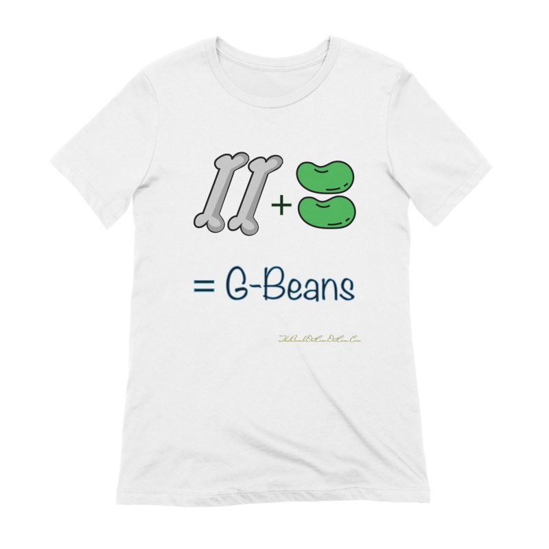 Two Bones Two Beans for Kayla Women's Extra Soft T-Shirt by thebombdotcomdotcom.com
