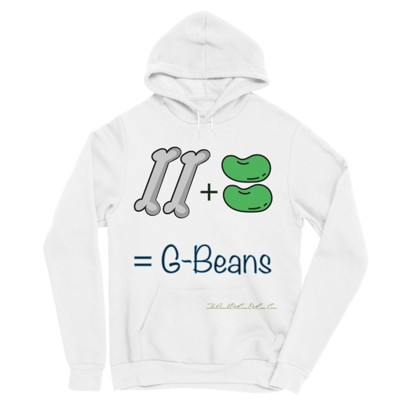 Two Bones Two Beans for Kayla Men's Sponge Fleece Pullover Hoody by thebombdotcomdotcom.com
