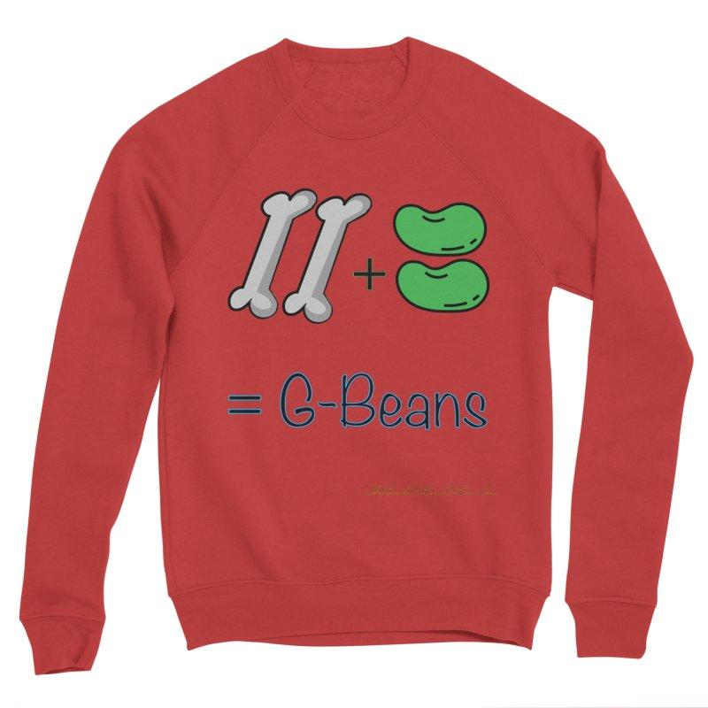 Two Bones Two Beans for Kayla Men's Sponge Fleece Sweatshirt by thebombdotcomdotcom.com