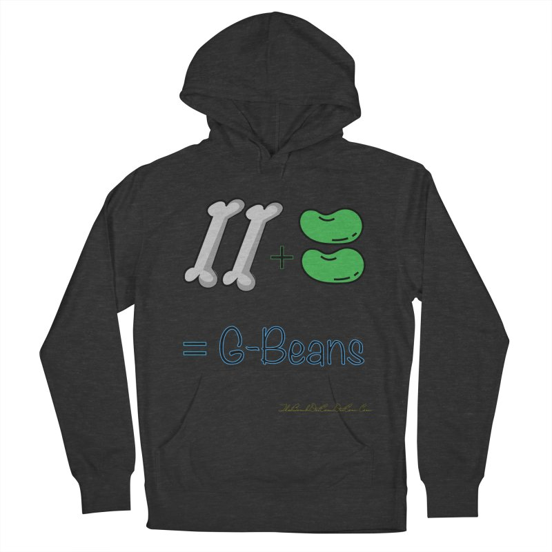 Two Bones Two Beans for Kayla Women's French Terry Pullover Hoody by thebombdotcomdotcom.com