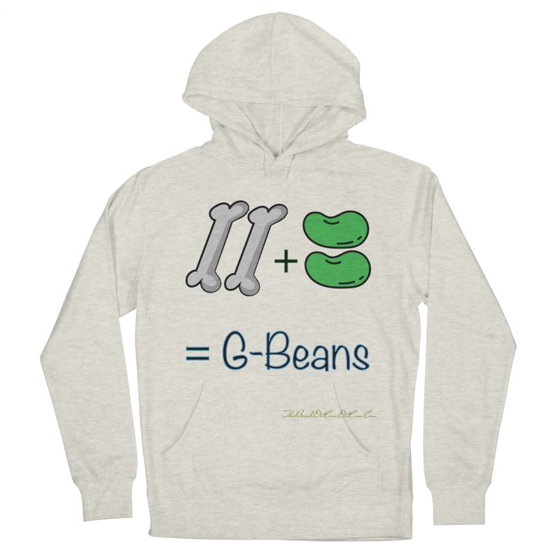 Two Bones Two Beans for Kayla Men's French Terry Pullover Hoody by thebombdotcomdotcom.com