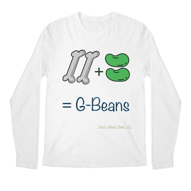 Two Bones Two Beans for Kayla Men's Regular Longsleeve T-Shirt by thebombdotcomdotcom.com