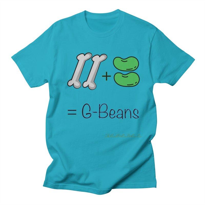 Two Bones Two Beans for Kayla Women's Regular Unisex T-Shirt by thebombdotcomdotcom.com