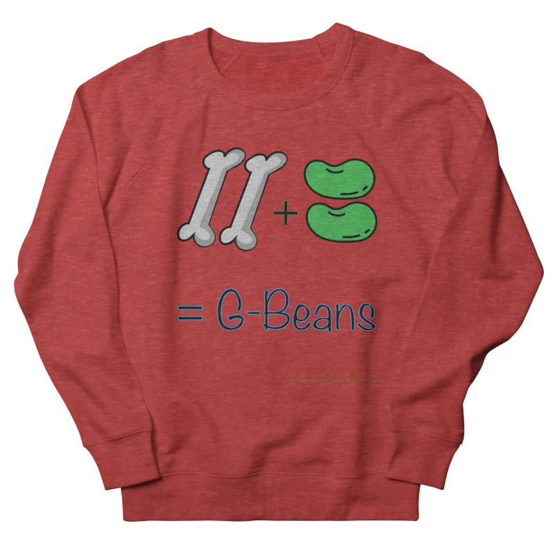 Two Bones Two Beans for Kayla Men's French Terry Sweatshirt by thebombdotcomdotcom.com
