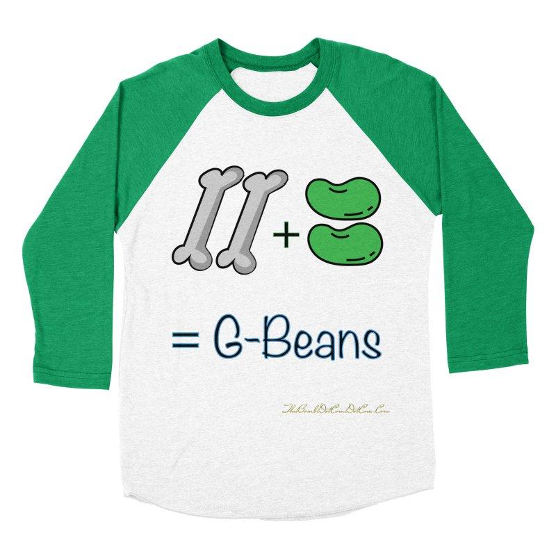 Two Bones Two Beans for Kayla Men's Baseball Triblend Longsleeve T-Shirt by thebombdotcomdotcom.com