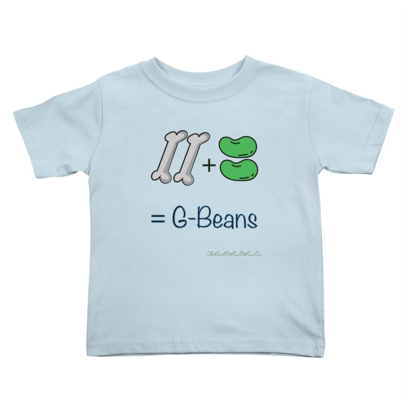 Two Bones Two Beans for Kayla Kids Toddler T-Shirt by thebombdotcomdotcom.com